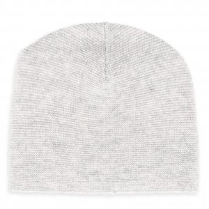 Cashmere Mütze Grau-Mèlange